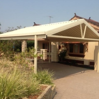Free Standing Gable Double Carport